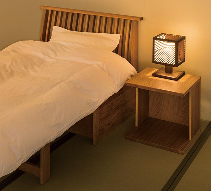 くつろぎベッドナイトシーンweb